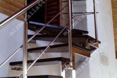 купить лестницу из нержавейки