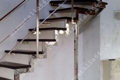лестницы из нержавейки фото