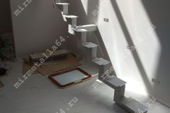 Каркас лестницы с одним косоуром