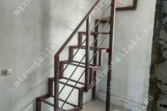 Каркас лестницы на второй этаж