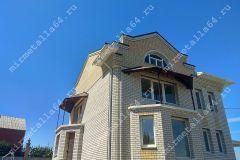 установка козырька над балконом
