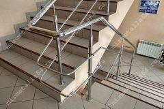 перила и поручни из нержавейки для лестниц