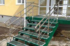 никелированные перила для лестниц цена