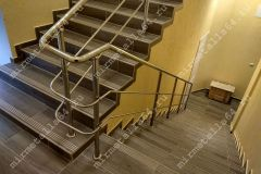 изготовление ограждений лестниц