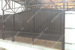 Ворота распашные кованные