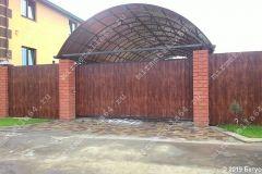 Навес, ворота, забор